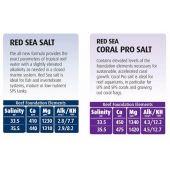 Sare marina Red Sea Salt 22 kg galeata pentru 660 litri