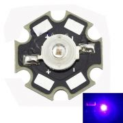 LED - 3W UV Ultra Violet 365NM High Power LED with 20mm