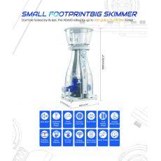 Maxspect Aeraqua Duo AD600 Protein Skimmer 400 - 1700L