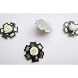 LED 3 watt Warm white 3000-3500k, 20 mm