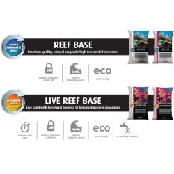 Nisip viu Red Sea Live Reef Base-Ocean White 0.25-1mm, 10Kg | Substrat Acvariu