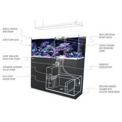 ACVARIU Red Sea Reefer XXL 750 Deluxe Alb (incl. 3x Hydra 26 HD)