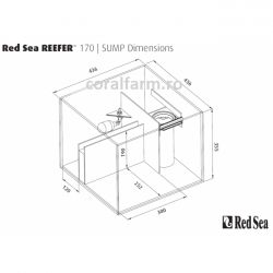 Red Sea Reefer 350 XL Deluxe ( 2 x ReefLED 90, mounting arms)